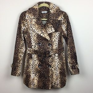 Caché - Leopard / Animal Print Trench Coat